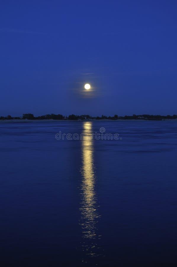 chemin lunaire photo libre de droits