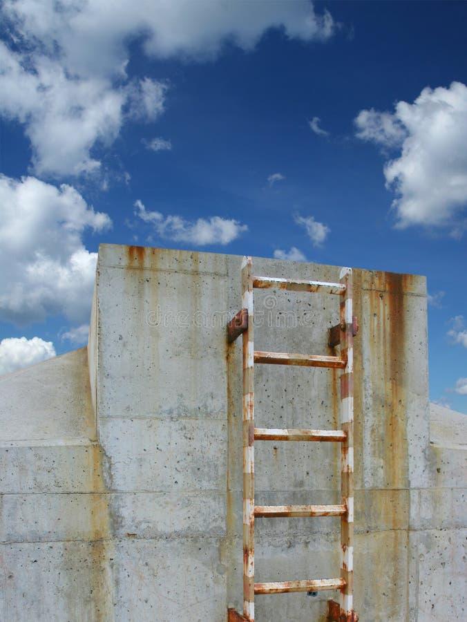 Chemin vers le ciel photos stock