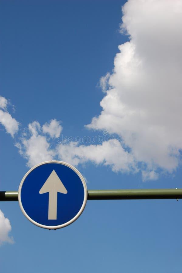 Chemin vers le ciel image stock