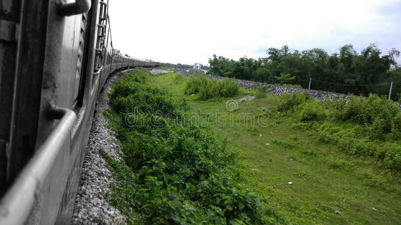 Chemins de fer indiens image stock