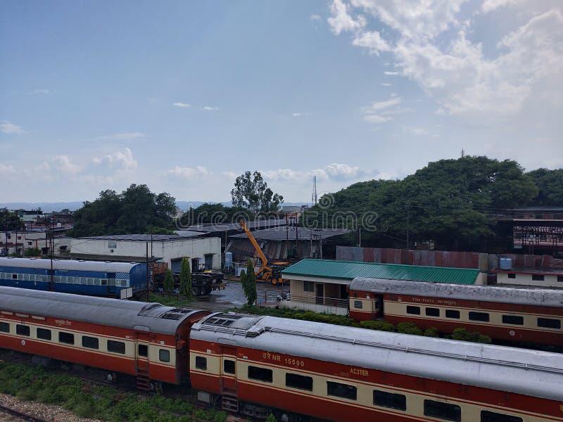 Chemins de fer indiens photo stock