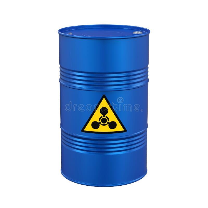 Chemisch Geïsoleerd Wapenvat stock illustratie
