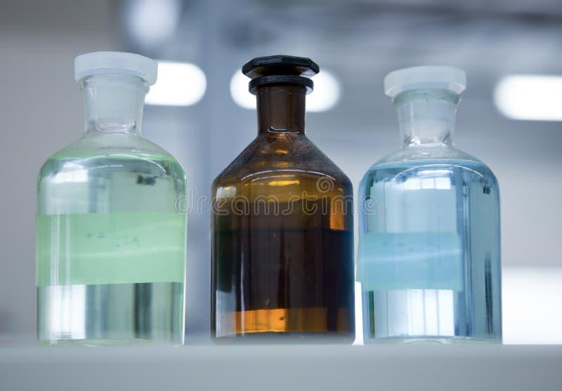 Chemisch Laboratorium stock afbeelding