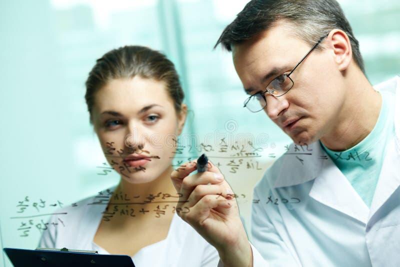 Chemisch onderwijs royalty-vrije stock foto
