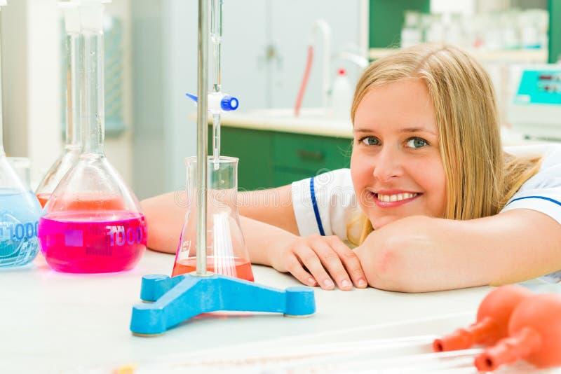 Chemische Aanalysis stock fotografie