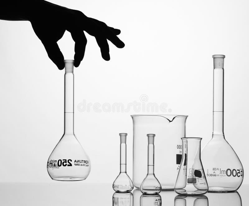 Chemische apparatuur stock afbeeldingen
