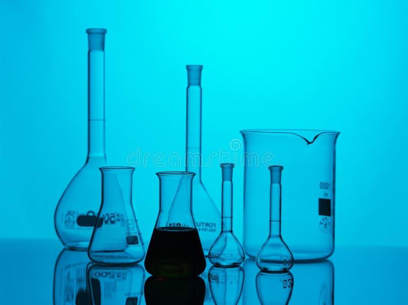 Chemische apparatuur stock foto