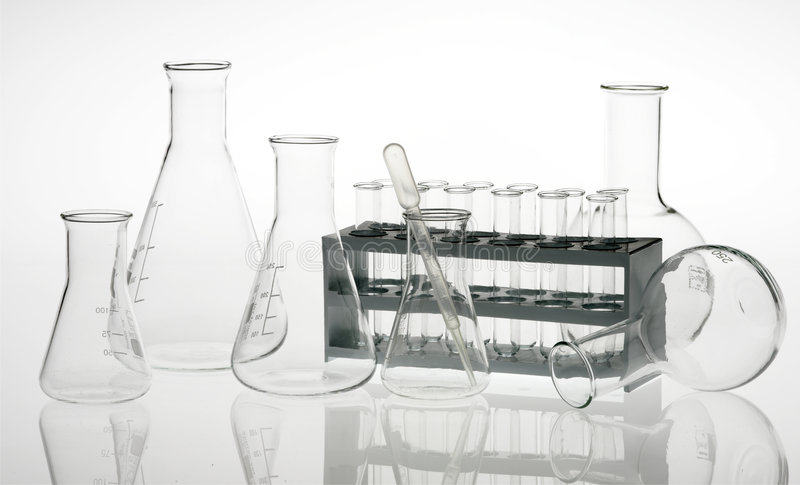 Chemische apparatuur royalty-vrije stock foto's