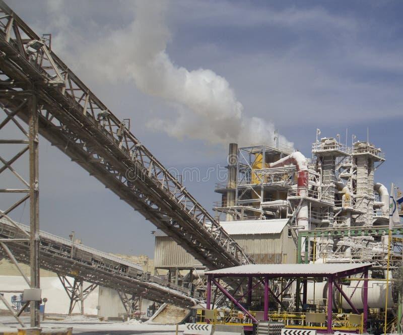 Chemische fabriek royalty-vrije stock foto