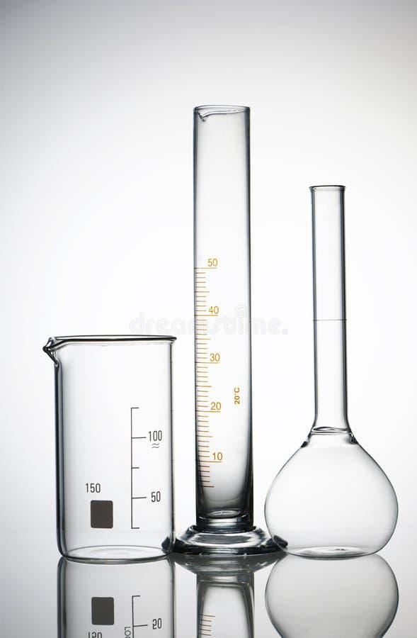 Chemische Flaschen stockfotografie
