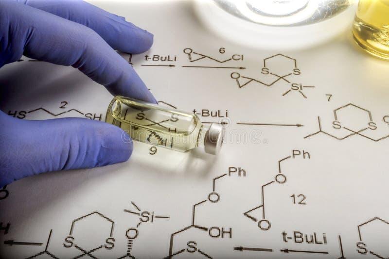 Chemische formulering en geneesmiddelen royalty-vrije stock foto's