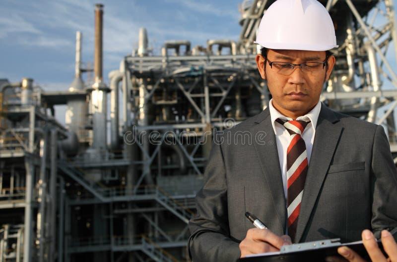 Chemische industriële ingenieur royalty-vrije stock afbeeldingen
