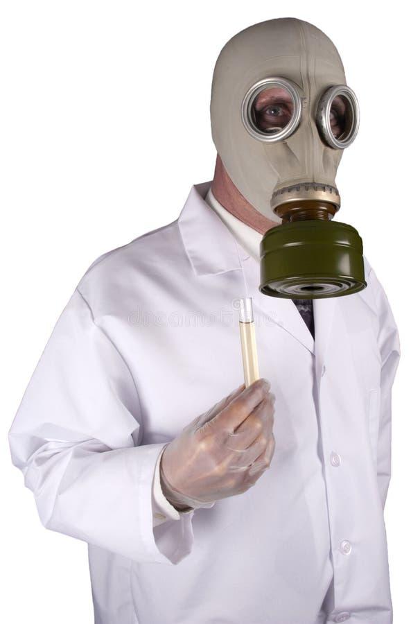 Chemische Kriegsführung, Bioterrorismus, giftige Chemikalien lizenzfreie stockfotografie
