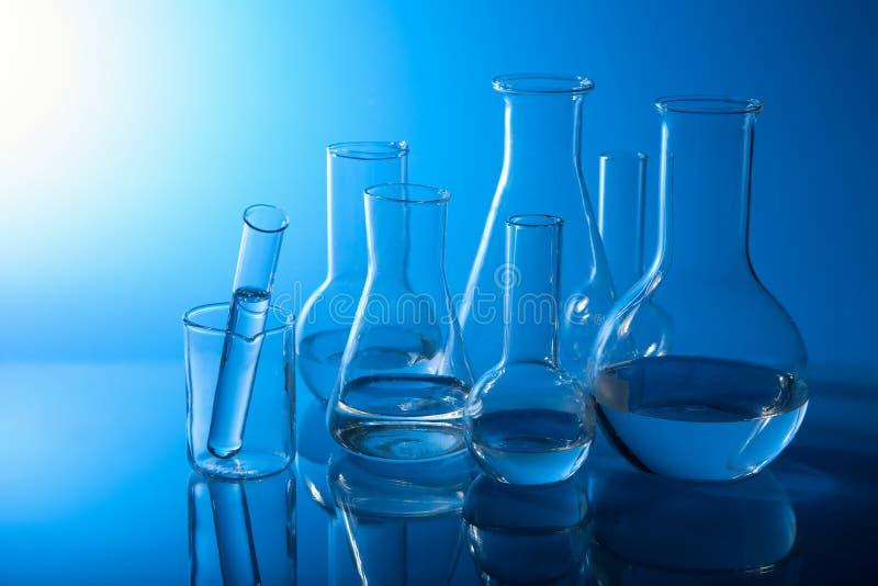 Chemische Laborausrüstung stockfoto