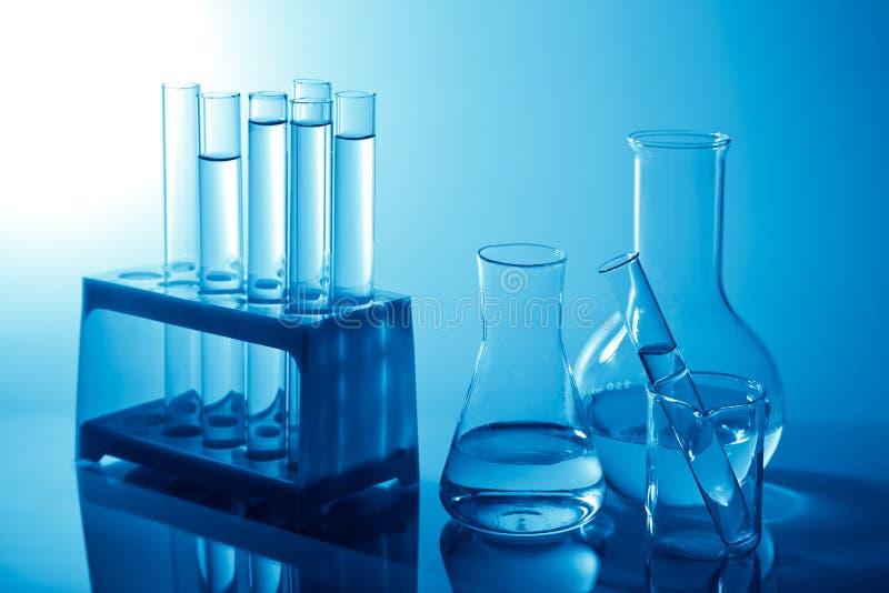 Chemische Laborausrüstung lizenzfreie stockfotos