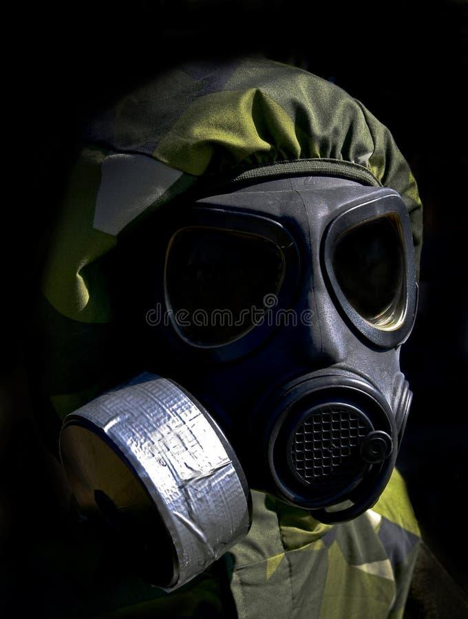 Chemische oorlogvoering stock fotografie