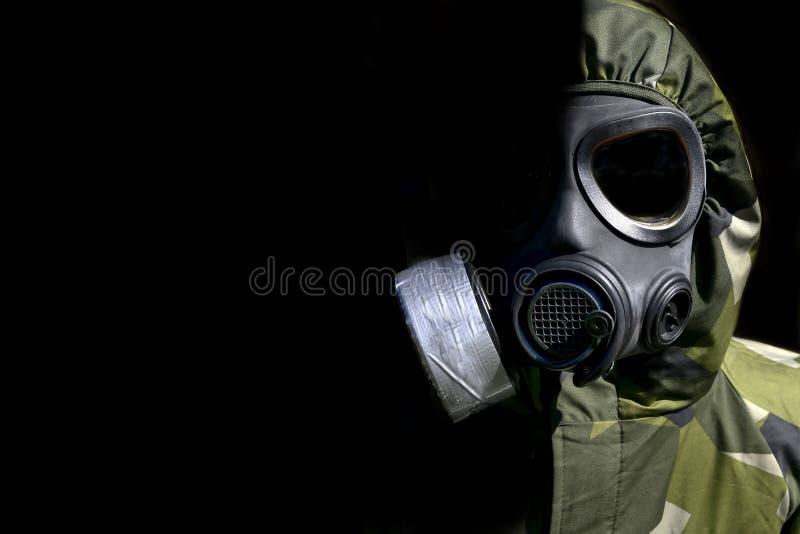 Chemische oorlogvoering royalty-vrije stock afbeelding