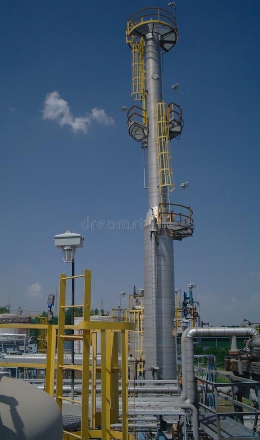 Chemische productie stock afbeeldingen