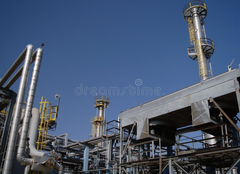 Chemische productie. royalty-vrije stock afbeeldingen