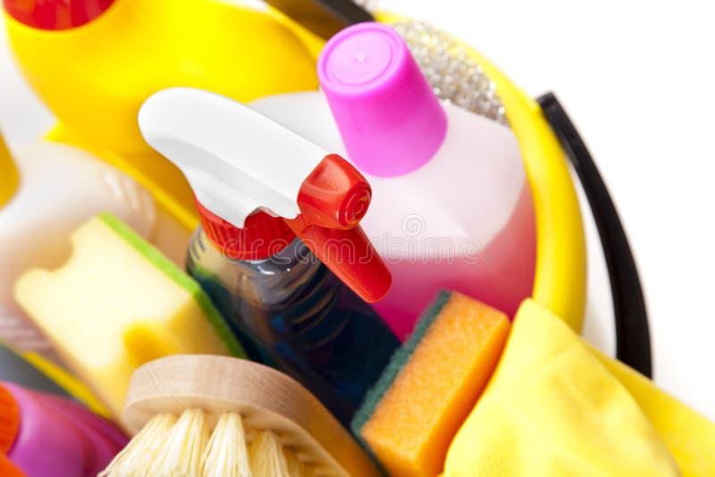 Download Chemische Produkte In Der Wanne Stockfoto - Bild von reinigungsmittel, plastik: 27731320