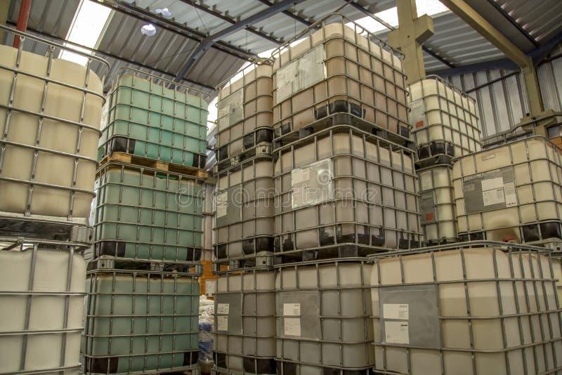 Chemische tank royalty-vrije stock fotografie