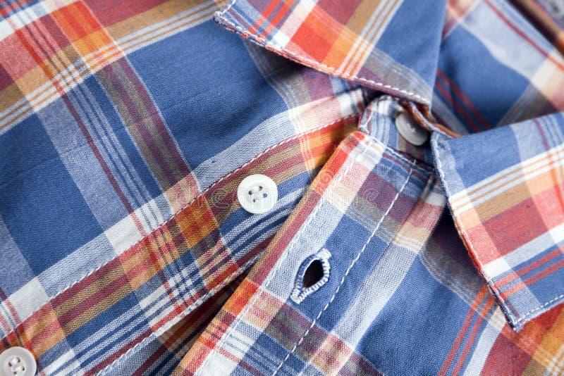 Chemise avec un collet photo libre de droits