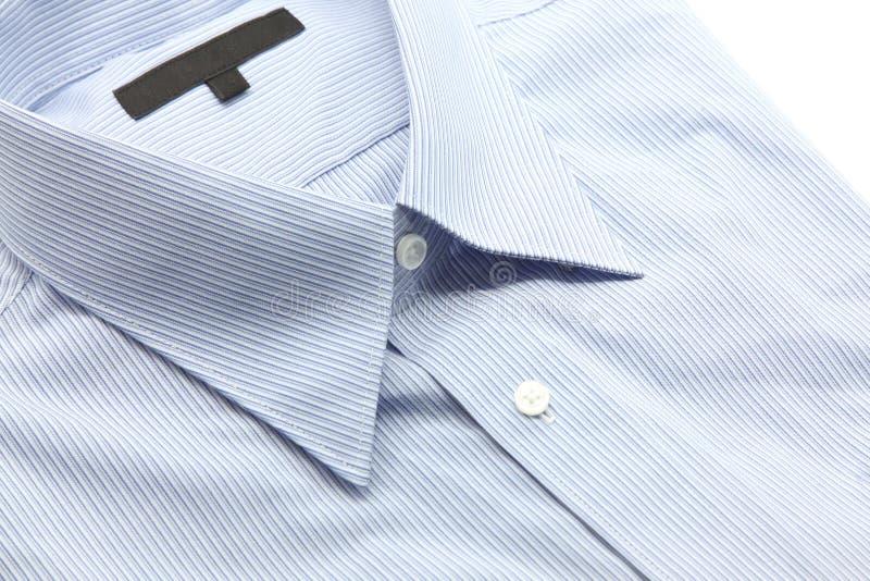 Chemise bleue d'affaires images libres de droits