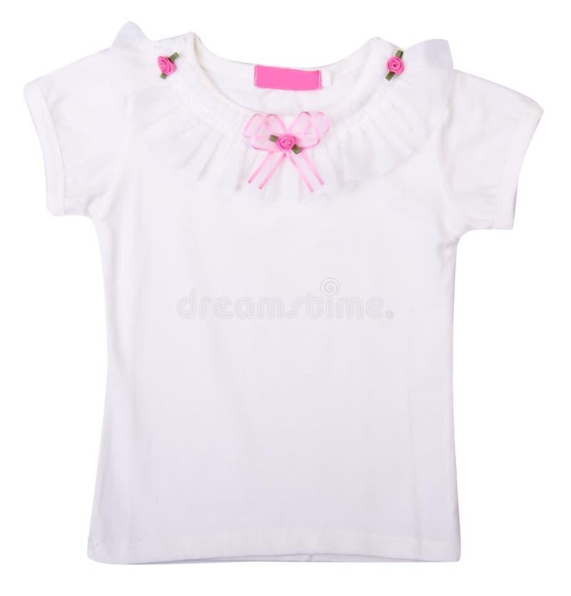 Chemise, chemise de gosses sur le fond. photographie stock