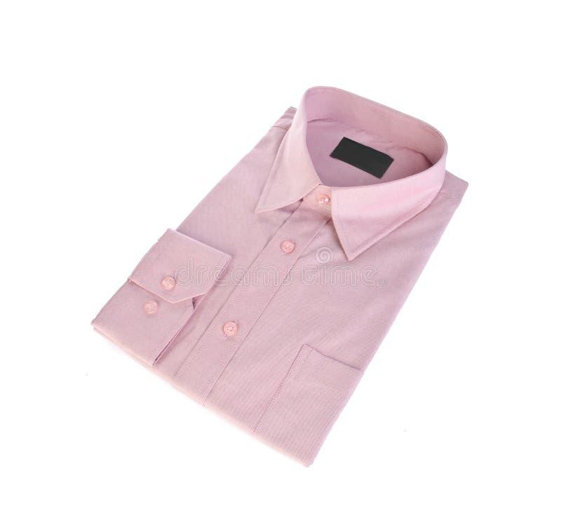 Chemise de robe sur le fond blanc photographie stock libre de droits