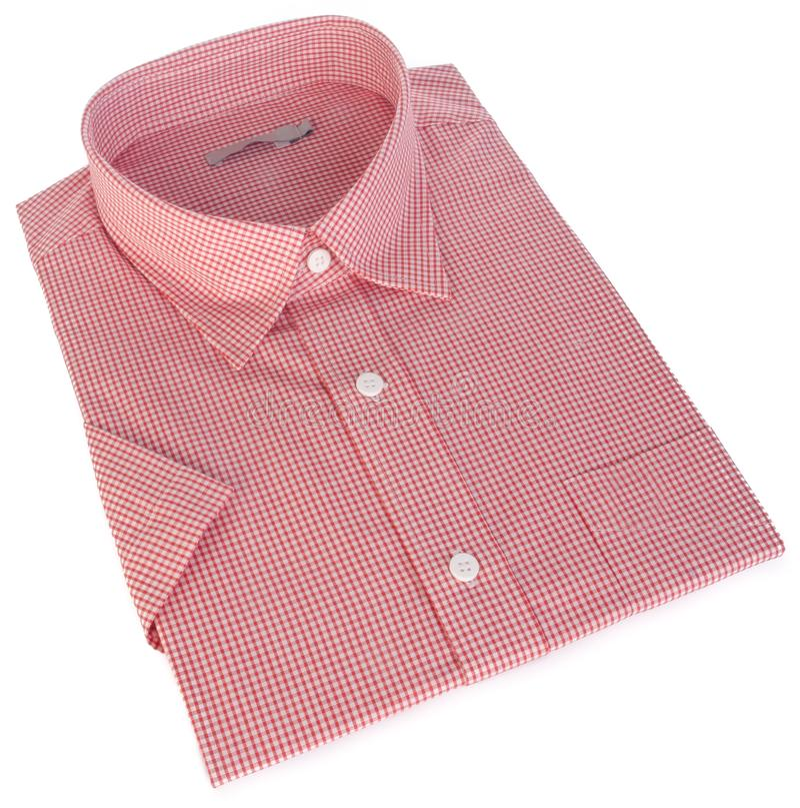 Chemise, chemise sur le fond image libre de droits