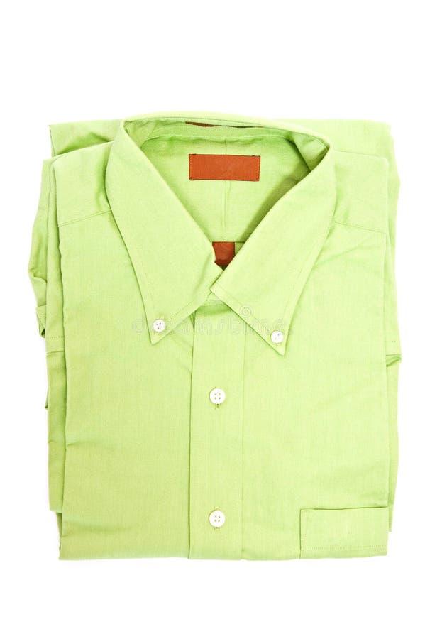 Chemise verte photographie stock