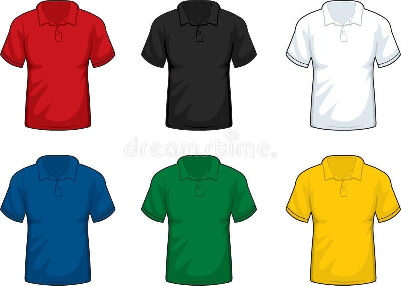 Chemises de polo image stock