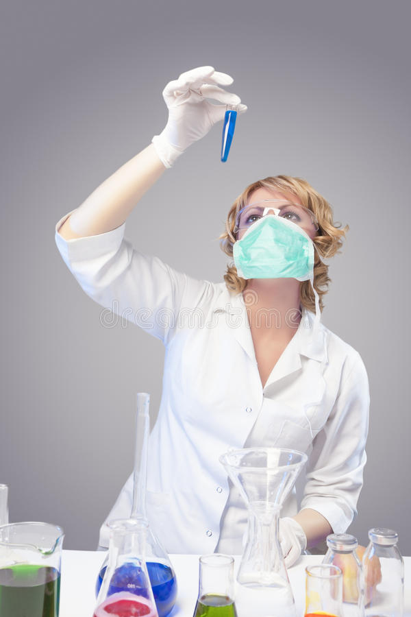 Download Research In Chemical Laboratory Stock Photo - Image: 30140996