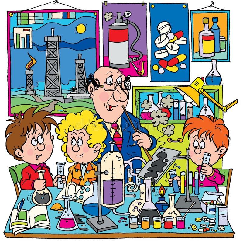 Chemistry royalty free illustration