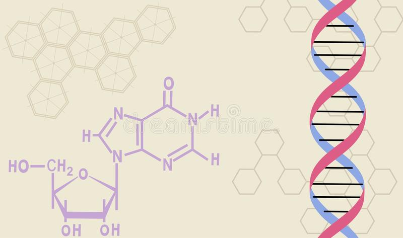 Download Chemistry stock vector. Illustration of background, medicine - 9427066