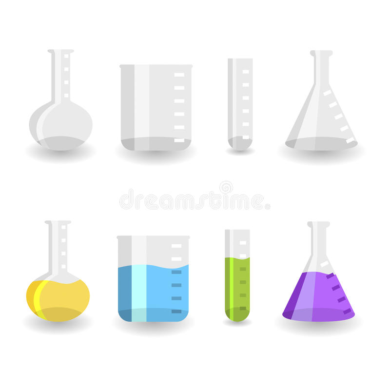 Download Chemistry beakers stock vector. Illustration of full - 11795503