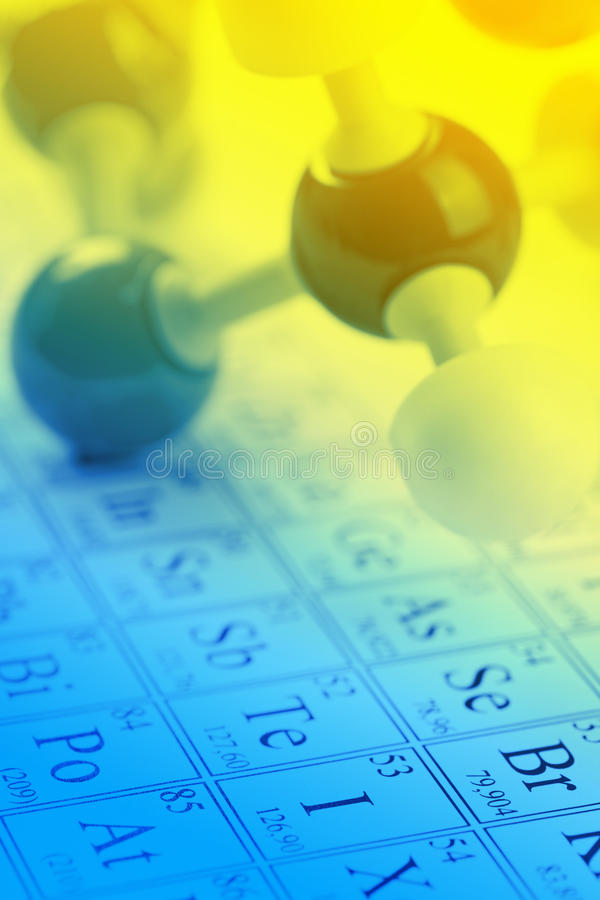Chemistry concept royalty free stock photos