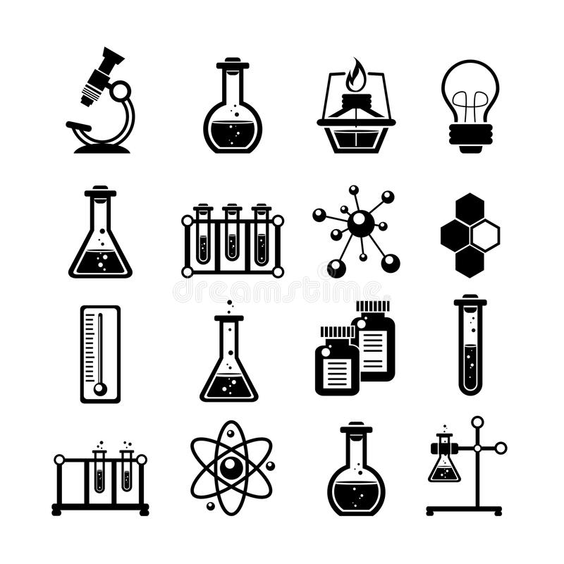 Chemistry icons set black stock vector illustration of isolated download chemistry icons set black stock vector illustration of isolated 51600422 ccuart Image collections