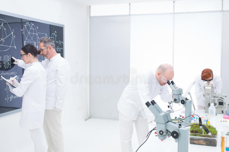 Download Chemistry lab lessons stock image. Image of physics, researcher - 31258607