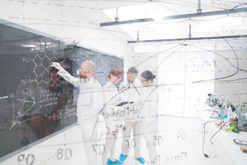 Download Chemistry Laboratory Lessons Stock Photo - Image: 31258648