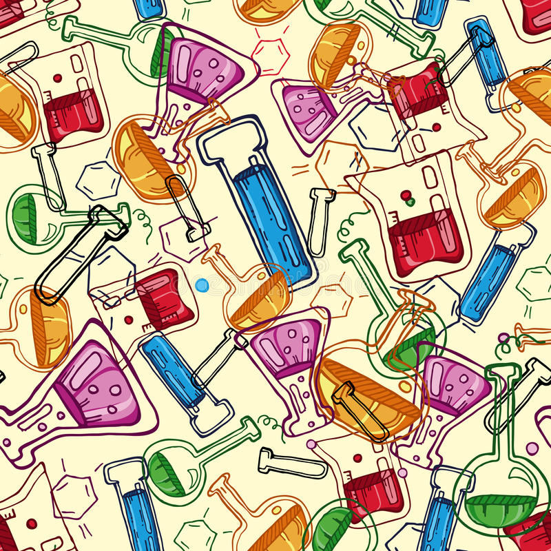 Download Chemistry Pattern Stock Photography - Image: 12925682