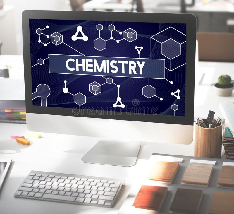 Chemistry Science Research Subject Education Concept stock photos