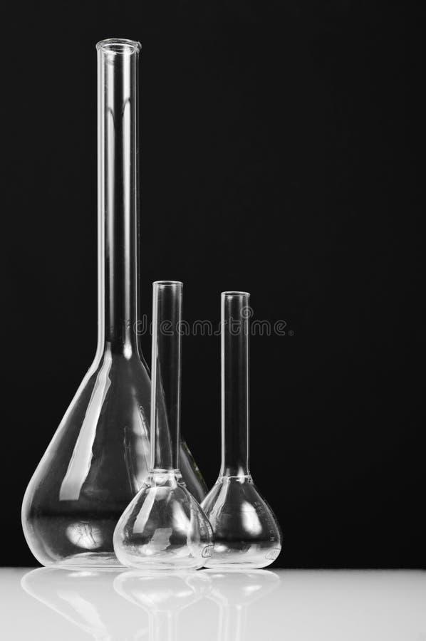 Chemistry vials stock photography