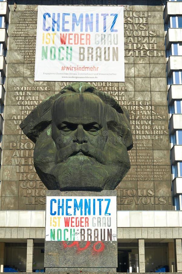 Chemnitz, Γερμανία - 11 Οκτωβρίου 2018: επισκέψεις της Γερμανίας Ιστορικές κτή στοκ φωτογραφία με δικαίωμα ελεύθερης χρήσης