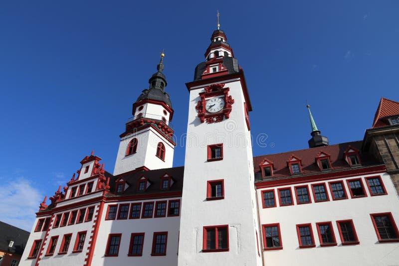 Chemnitz Tyskland royaltyfri bild