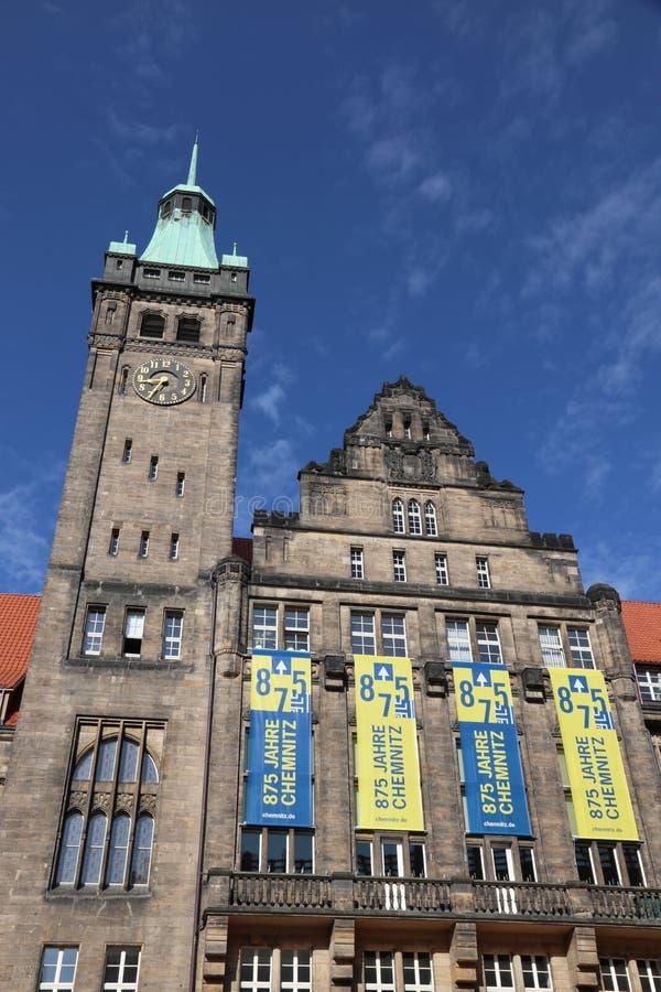 Chemnitz Tyskland fotografering för bildbyråer