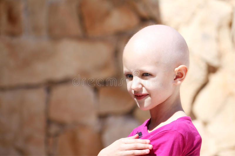Chemo child royalty free stock images