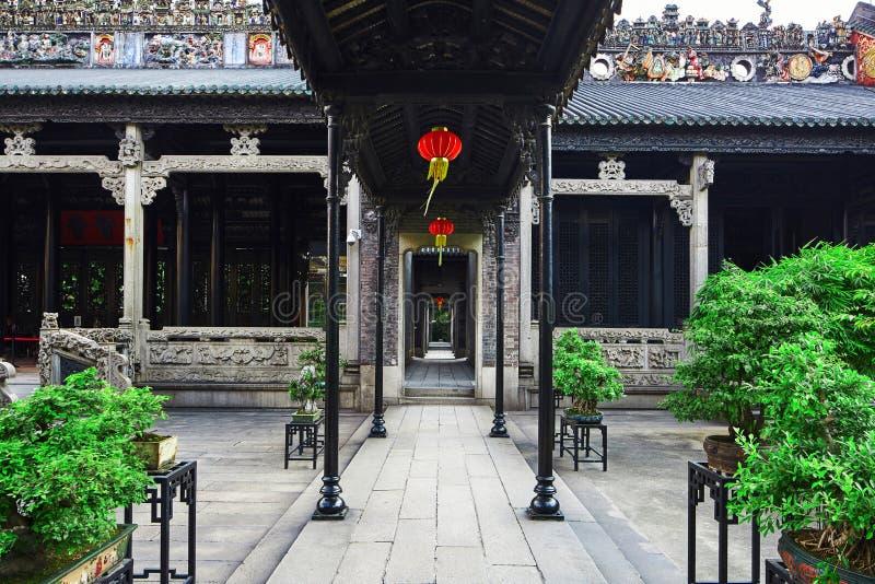 Chen Klanowy Ancestralny Hall zdjęcia stock
