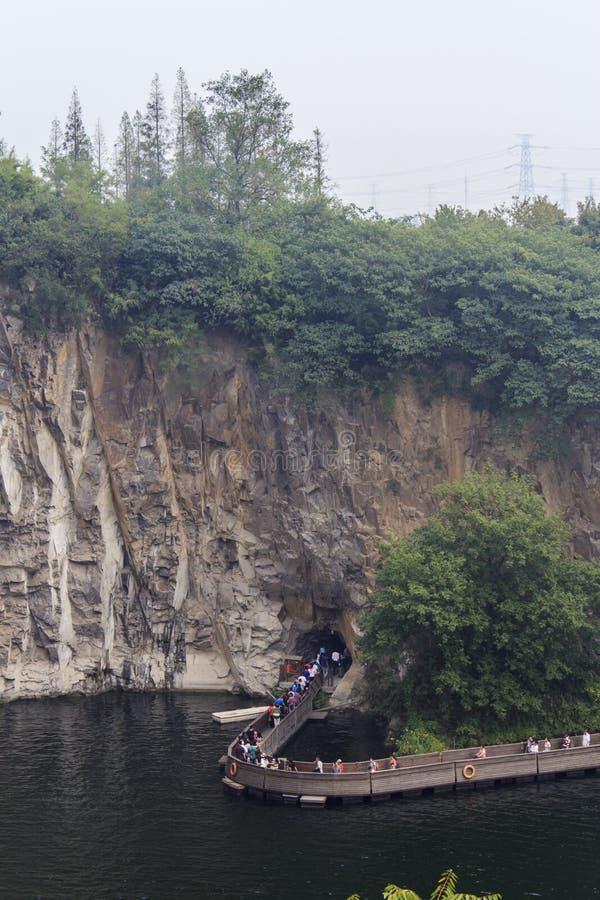 Chen Shan Botanical Garden, Shanghai royalty-vrije stock foto's