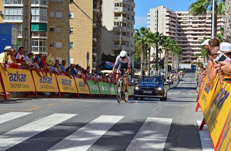 Chen Sie Rennen einen Kreislauf durchma lizenzfreie stockfotografie